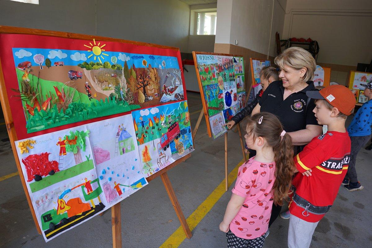 Strażacki Dzień Dziecka w OSP Czarna Dąbrówka