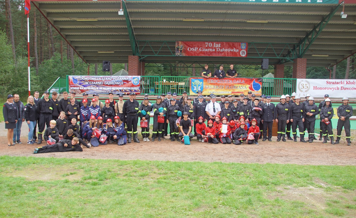 Zawody Młodzieżowych Drużyn Pożarniczych w Nożynie