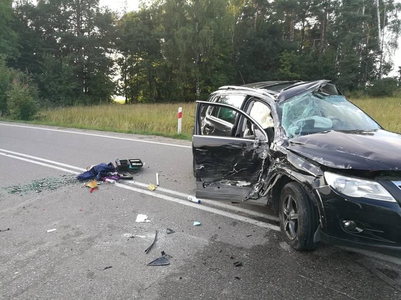 Groźny wypadek na skrzyżowaniu w Rokitach
