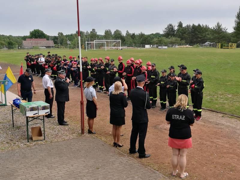 Gminne Zawody Sportowo Pożarnicze Młodzieżowych Drużyn Pożarniczych